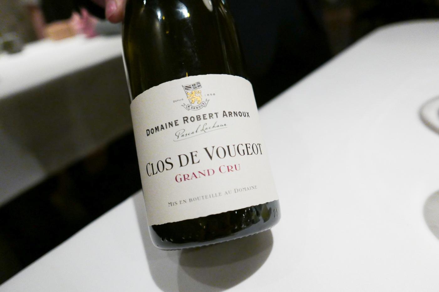 CLOS DE VOUGEOT Grand Cru, Domaine Robert Arnoux, Burgundy, France, 2002