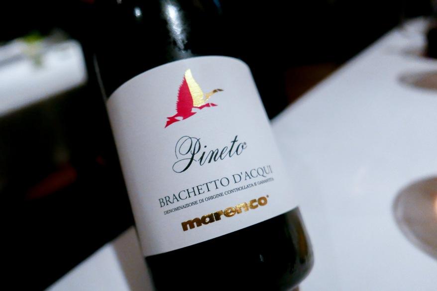 "BRACHETTO D'ACQUAI Marenco, ""Pinto,"" Piedmont Italy, 2016"